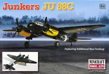 Minicraft 1/144 Junkers Ju-88C Bomber WW2  Luftwaffe German Air Force  KIT