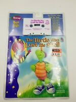 "NEW Barney ""The Turtle Who Lost His Shell Paperback Book Cassette Tape 1996 RARE"