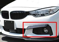 BMW 4-Series F32 F33 F36 M Sport M Tech 14-19 FRONT SPLITTER ADDITIONS 2 PCS
