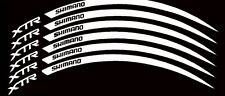 Simano XTR Wheel Rim Decals Stickers Set of 6 MTB Bike Racing Cycle