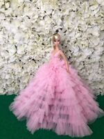 Gown Outfit Dress  Silkstone Barbie Doll by t.d.fashion