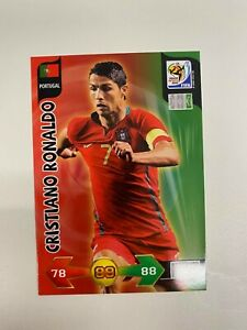CRISTIANO RONALDO WORLD CUP 2010 PANINI ADRENALYN XL CARD RARE