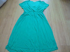 BODEN GREEN JERSEY DAY DRESS SIZE 16 BNWOT