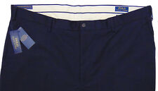 Men's POLO RALPH LAUREN Navy Blue Pants 36Tx36 36x36 NEW NWT Stretch Classic Fit