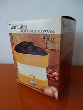Vintage Kitchen Scale Terraillon 4000 braun Zanuso 70s Küchenwaage Waage wie neu