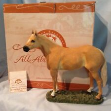 """Country Artists Quarter Horse Stallion 7.5"""" Ready for Show 03920 Retired $59.99"""