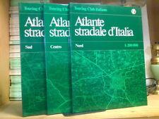 ATLANTE STRADALE D' ITALIA - 3 voll. NORD / CENTRO / SUD