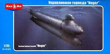 MikroMir Models 1/35 GERMAN NEGER HUMAN TORPDEO MINI SUBMARINE