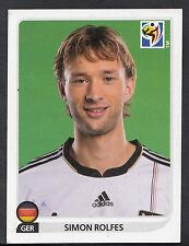 Panini Football Sticker - 2010 World Cup - No 267 - Germany - Simon Rolfes