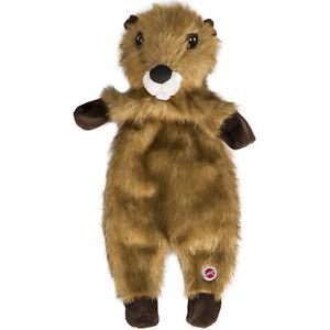 Spot ETthical Furzz Beaver Pet Squeak Dog Toy  (Free Shipping)