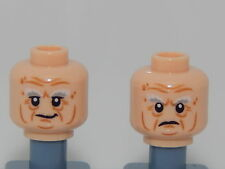 Lego Minifigure Head The Hobbit & The Lord Of The Rings Balin the Dwarf H108