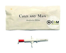 Catch&Mark  x1 Pet Dog Animal Tag RFID Microchip Transponder identification