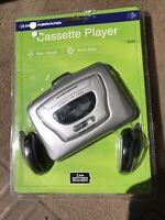 CASSETTE PLAYER 820M HEADPHONES - NEW