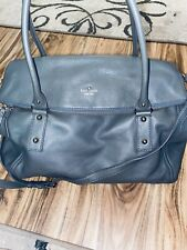 Kate Spade Xl Cobble Hill Leslie Storm Gray Travel Weekender Bag Tote Overnight