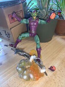 Marvel Select Green Goblin Action Figure Spider-man Diamond Disney Loose