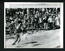 Tony Lema blasts bunker 1965 Crosby Golf Tournament at Cypress Point Press Photo