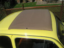 Classic Fiat 500 DFLR Abarth Sunroof Cover Mohair Fabric Fiat 500 Roof Canvas