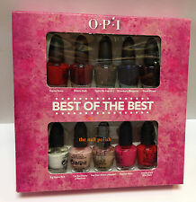 * OPI BEST OF THE BEST Mini Nail Polish Complete 10 Bottles BNIB