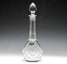 Saint Louis (St. Louis) Cut Crystal Wine Decanter W/ Stopper Original Label