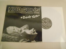 "LP Pop Hobson's - Body Talk 12"" (4 Song) GENERATOR / GAP REC + Presskit"
