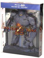 PACIFIC RIM 3D - Limited Edition Robot Pack (3 BLU-RAY 3D + 2D) Da Collezione
