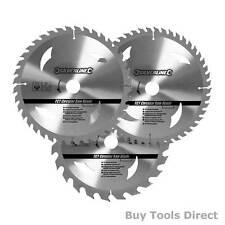 3 x Circular Saw Blades 30mm Bore Diameter to fit for Dewalt Makita Ryobi Bosch
