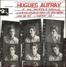 HUGUES AUFRAY - J'ENTENDS SIFFLER LE TRAIN - CD SINGLE REPLICA DU SUPER 45 T