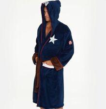 Captain America Dressing Gown / Bathrobe (bath robe mens civil war affinity wars