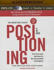Positioning : The Battle for Your Mind by Al Ries and Jack Trout (2014, MP3...