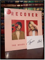 Recover by The Naked And Famous ✎SIGNED POSTCARD♫ by XAYALITH & POWERS New 2 LP