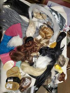 BJD Doll Wig Lot