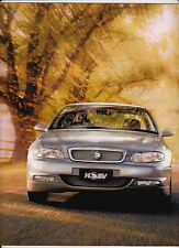 2000 HOLDEN WH STATESMAN & CAPRICE Large Format Prestige 32p Brochure