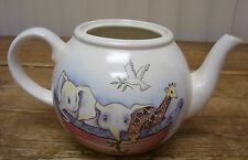 Arthur Wood Noah's Ark Noah Tea Pot Teapot Animal Tiger Elephant Giraffe England