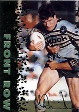 1996 Signature Gold Les Davidson Cronulla Sharks Rugby League Card