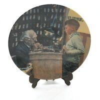 "Sammelteller USA Bradex Edwin Knowles by Norman Rockwell ""The Jeweler """