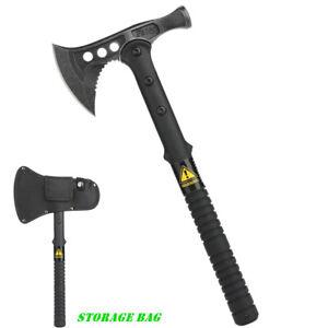 "15.7"" Hatchet Wood Multi Tool Axe Hammer Pry Bar Nail Puller Builder Roof Log"