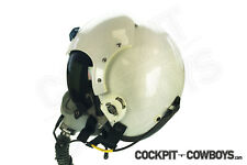 "HGU Flight Helmet - 2"" high quality white reflective tape - (Real Top Gun stuff)"