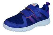 Scarpe Blu sintetico con lacci per bambini dai 2 ai 16 anni