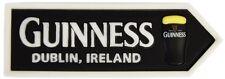 Guinness Pint Glass Roadsign 3D resin fridge magnet (sg 05020)