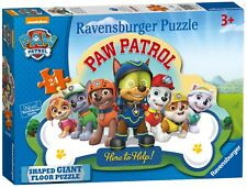 NEW! Ravensburger Paw Patrol 24 piece shaped giant floor jigsaw puzzle Age 3+
