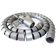 Flessibile Cavo Spirale spiralschlauch con supporto tiraggio cavo Ø 25 mm lunghezza 2.5 M BIANCO
