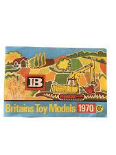 Britains Models Catalogue 1970 & Price List - Excellent Condition