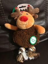 Spot Holiday Reindeer Giggle Dog Toy