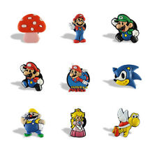 20PCS Super Mario Fridge Blackboard Magnets DIY Refrigerator Stickers Party Gift