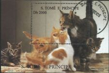 Sao Tome e Principe block330 (complete issue) used 1995 Dogs an