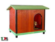 Cuccia coibentata per cani. In legno mis. 2 - Per cani Setter, Buldog e simili