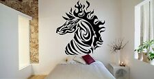 Wall Room Decor Art Vinyl Sticker Mural Decal Tribal Animal Horse Zebra FI564