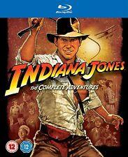 Indiana Jones The Complete Adventures Blu-Ray Set 1-4 Set 1 2 3 4 New