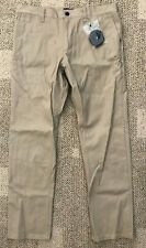 Nike Sb Mens Skateboard Pants Khaki Size 30 Chinos Cotton/Spandex 933233-235
