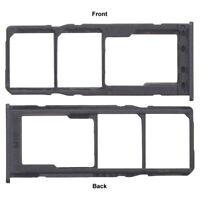 For Samsung Galaxy M10 Dual Sim Micro SD Card Tray Slot Holder Black SM M105F